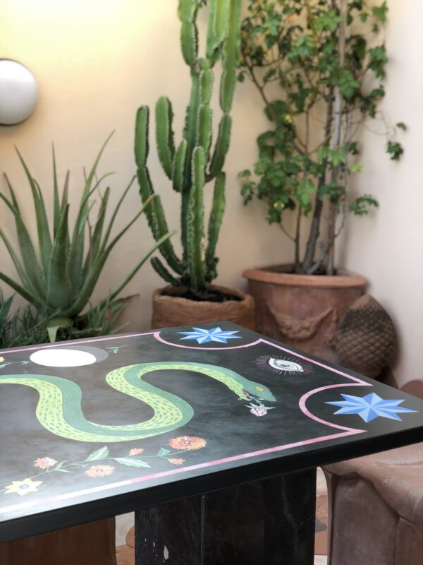 The Snake Table