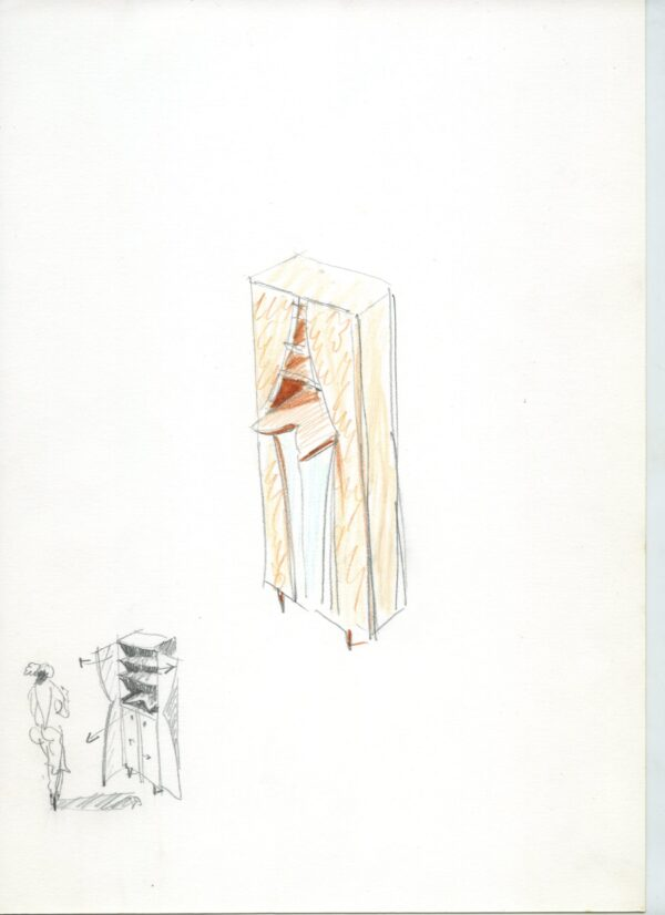 La Casa Palcoscenico Cabinet