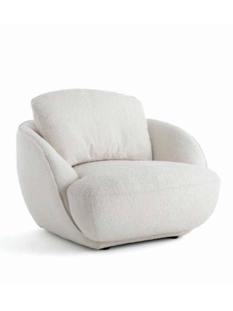 Maramao Bouclette Fabric Armchair