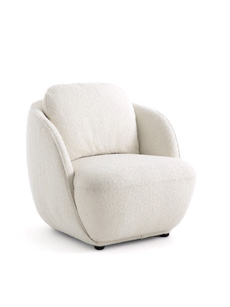Maramao Bouclette Fabric Armchair & Chair