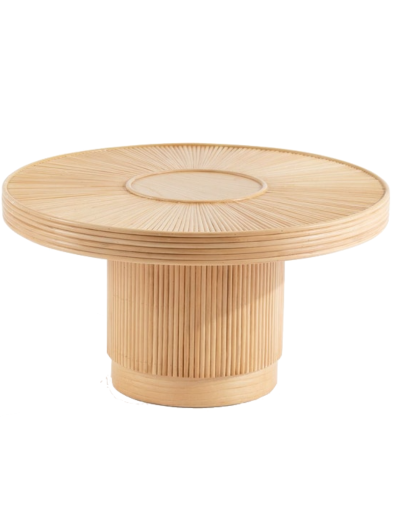 El Jable Bamboo Coffee Table